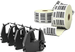Printer ribbons and labels
